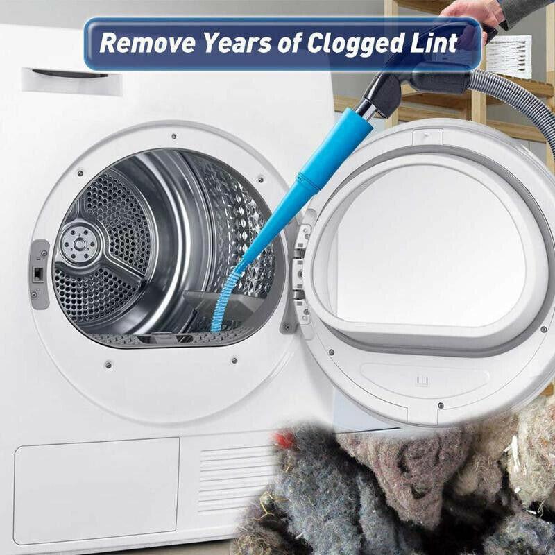 Universal Dryer Vent Lint Vacuum Cleaner Attachment Dust Cle